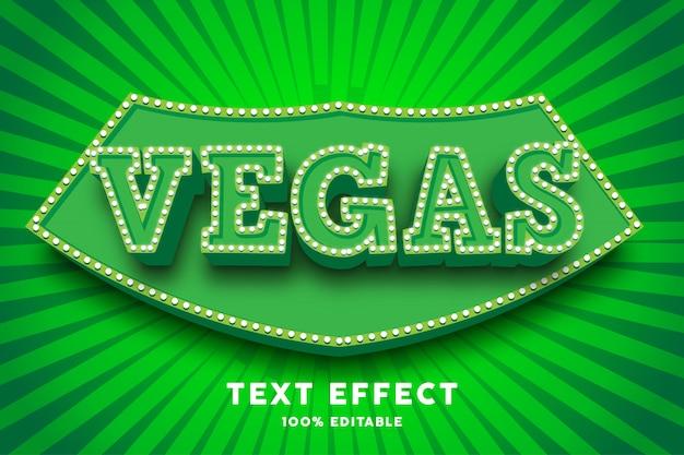 3d зелёный цирковой текстовый эффект Premium векторы