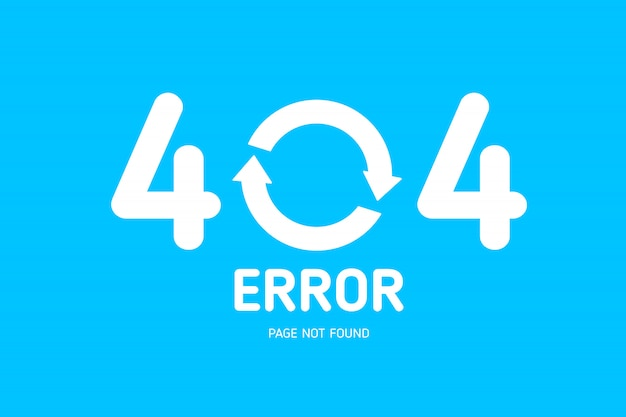 404  error not found page Premium Vector