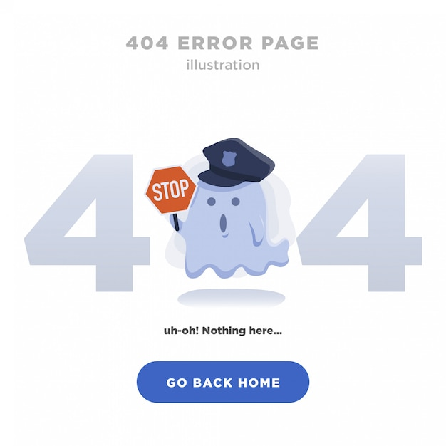 404 오류 페이지를 찾을 수 없습니다 프리미엄 벡터