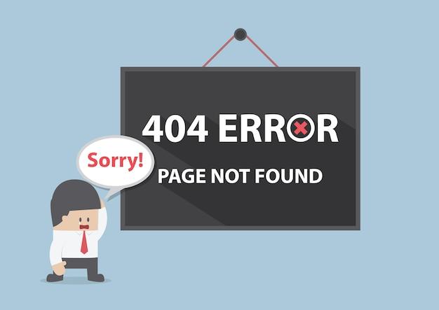 404 error Premium Vector