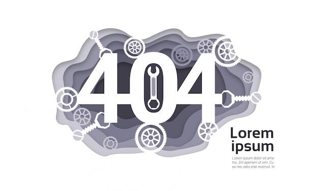 404 not found problem internet connection error Premium Vector