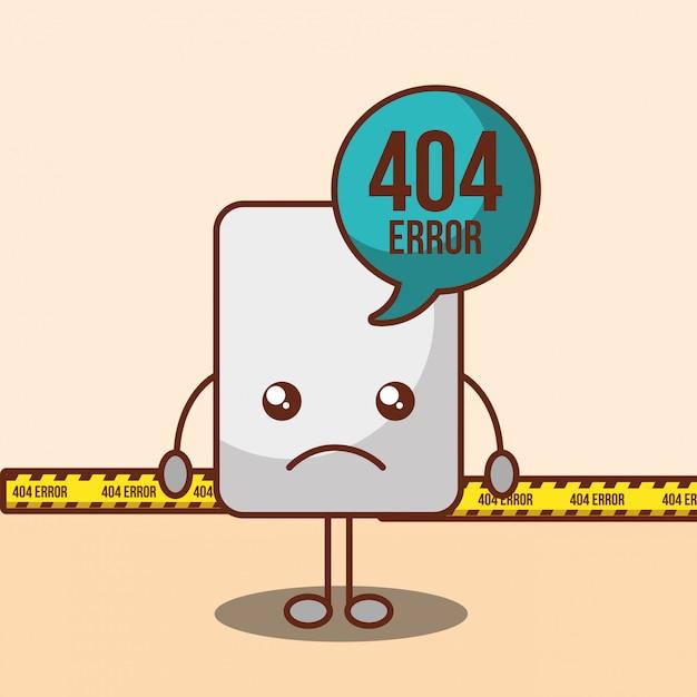 404エラーページが見つかりません 無料ベクター