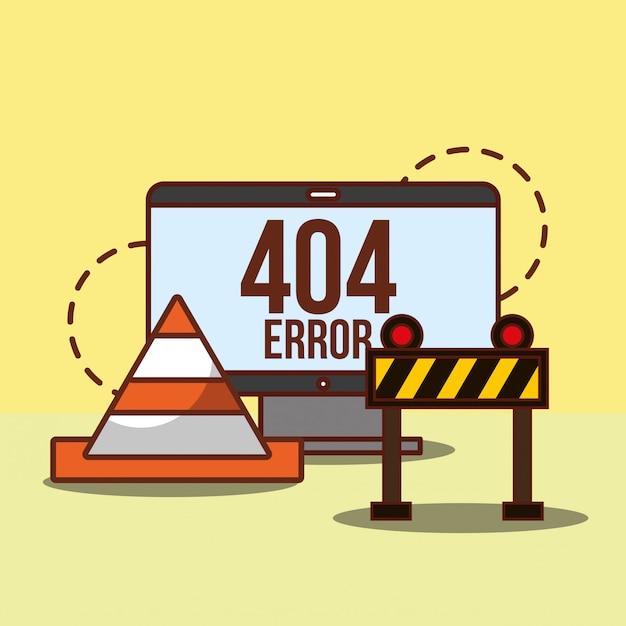 Страница ошибки 404 не найдена Бесплатные векторы