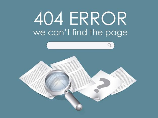 404 ошибка фона Бесплатные векторы