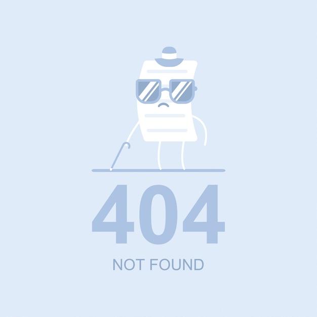 404ベクトルフラット概念図が見つかりません Premiumベクター
