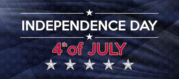 4 июля день независимости сша. празднование дня независимости в соединенных штатах америки. Premium векторы