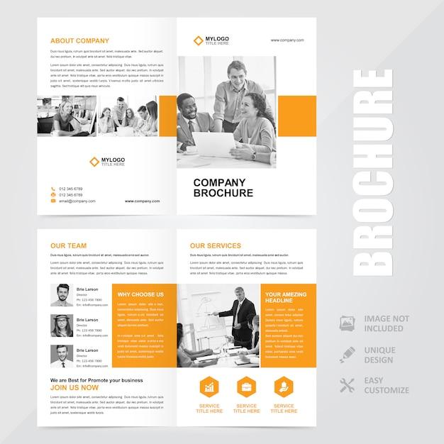 Корпоративный многоцелевой брошюра а4 векторный дизайн шаблона Premium векторы