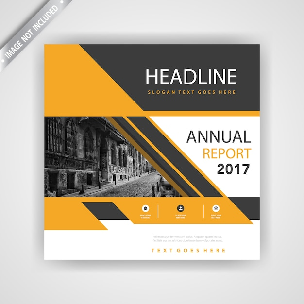 4a Brochure Mockup Template Vector Free Download