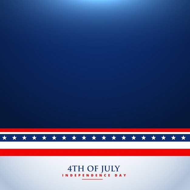 4th Of July Background Vector Free Download