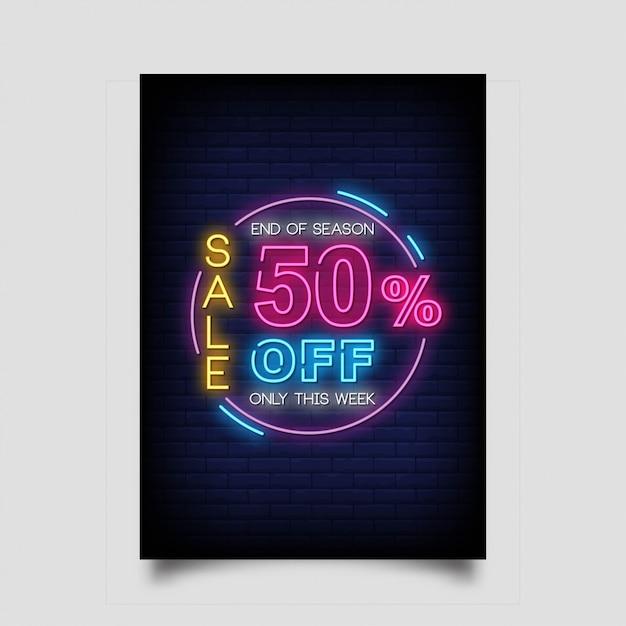 セール最大50%オフ、今週限定バナー Premiumベクター
