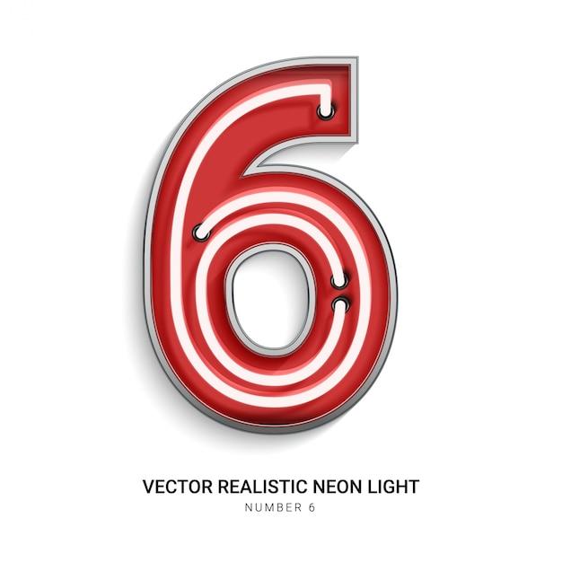 番号6 Premiumベクター