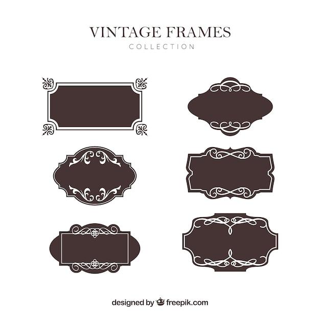 7 Cute vintage frames