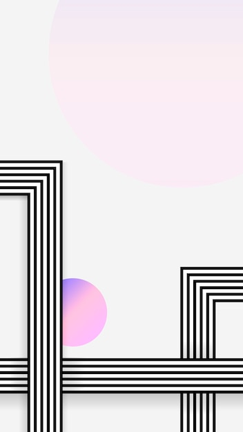 80's style banners Free Vector