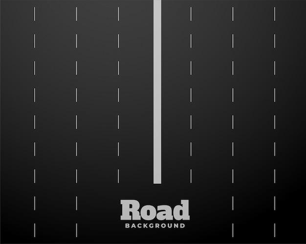 8車線の黒い道路高速道路の背景 無料ベクター