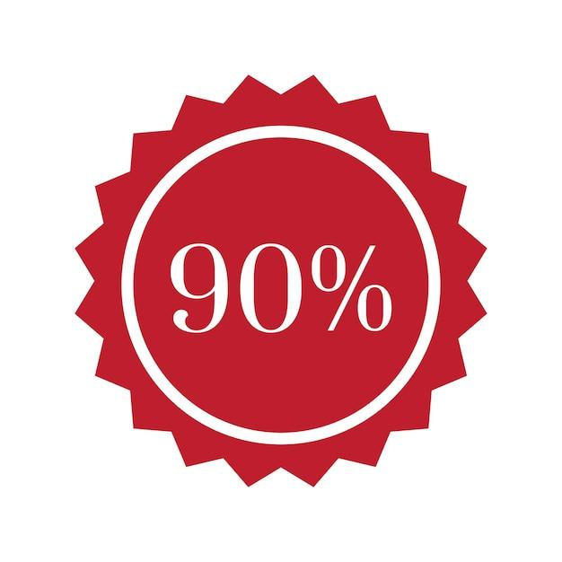 バッジベクトルを90%オフ 無料ベクター