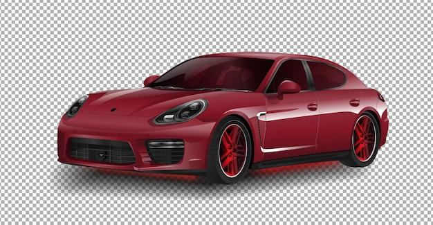 新しいポルシェ911 gt3スポーツ車ポルシェベクトル図 Premiumベクター