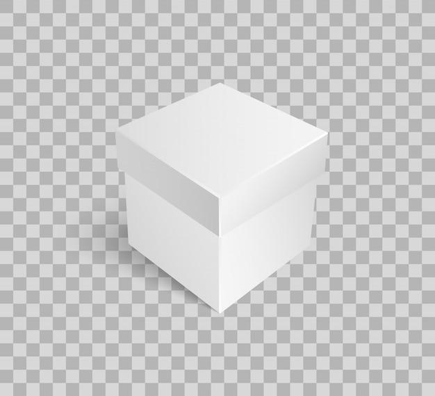 Закрытая посылка упаковка подарков, пустой подарок иконка Premium векторы