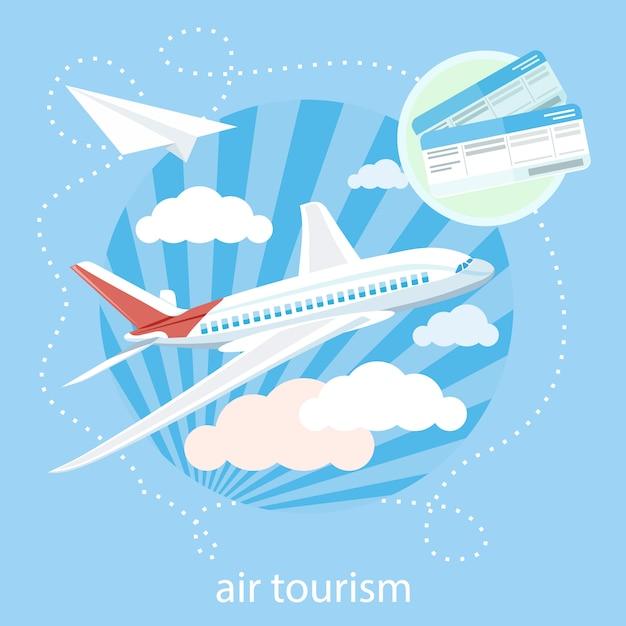 Виды речи, картинки для детей самолеты летят сквозь облака