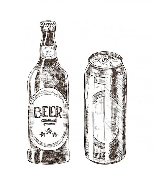 ビール瓶と分離することができます Premiumベクター