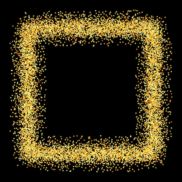 ゴールドの輝きがキラキラの背景。 Premiumベクター
