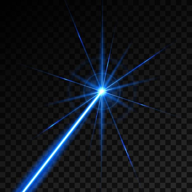 Лазерный охранный луч светит лучом. Premium векторы