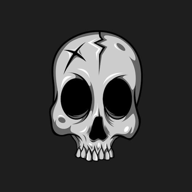 прикольный рисунок черепа заранее готовятся нему