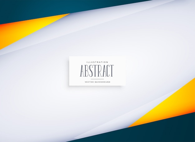 テキストスペースを持つ抽象的な幾何学的な背景 無料ベクター