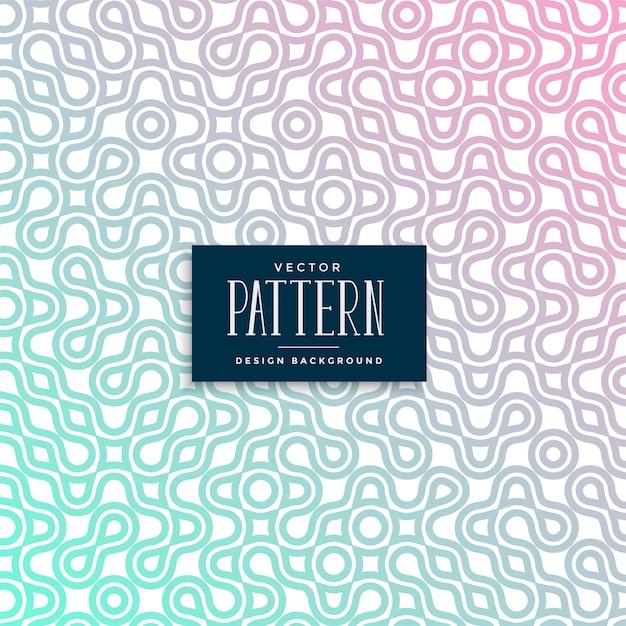 抽象的なラチェットカラフルなシームレスパターンデザイン 無料ベクター