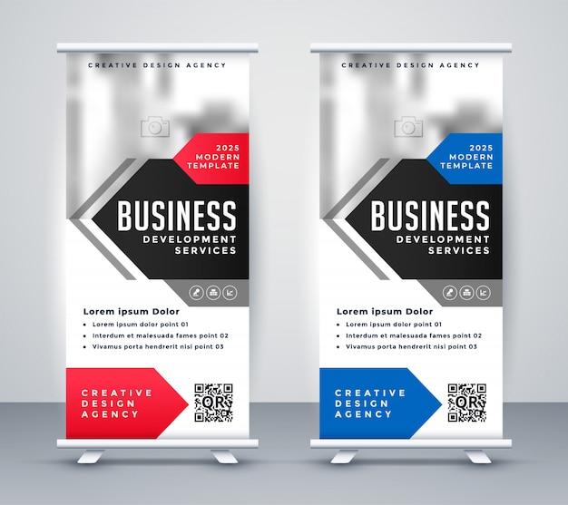 企業プレゼンテーション用ビジネスプレゼンテーションチラシ 無料ベクター