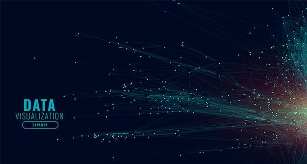 Фон сетевых технологий данных Бесплатные векторы