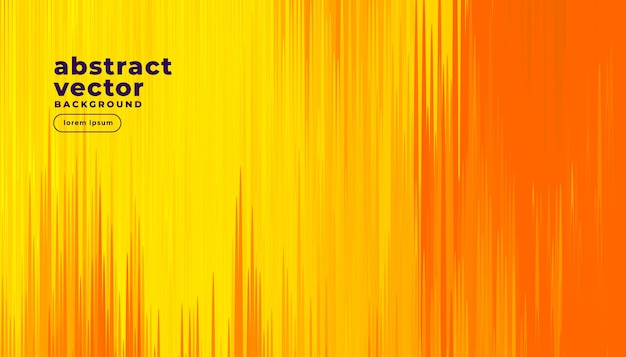 抽象的なコミックスタイルのオレンジ色の背景 無料ベクター