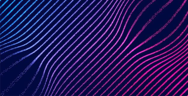デジタル照明粒子線テクスチャ背景 無料ベクター