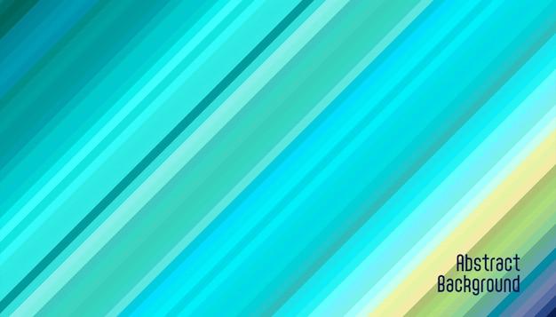抽象的な斜めの青い線の背景 無料ベクター