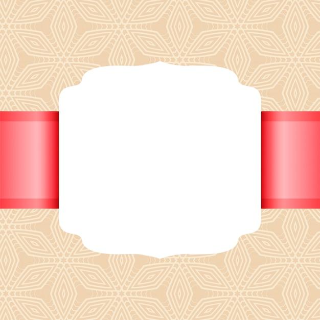 Пустой белый пустой классический винтажный стиль Бесплатные векторы