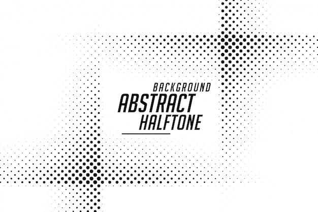 抽象的なラインスタイルハーフトーン黒と白の背景 無料ベクター