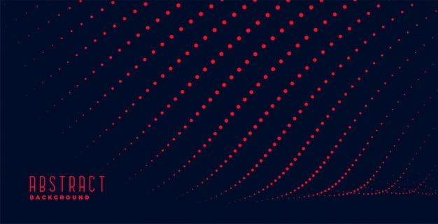 抽象的な赤い粒子線トレイルバックグラウンド 無料ベクター
