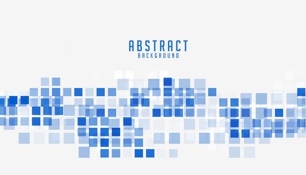 Абстрактный синий стиль мозаики бизнес презентация фон Бесплатные векторы