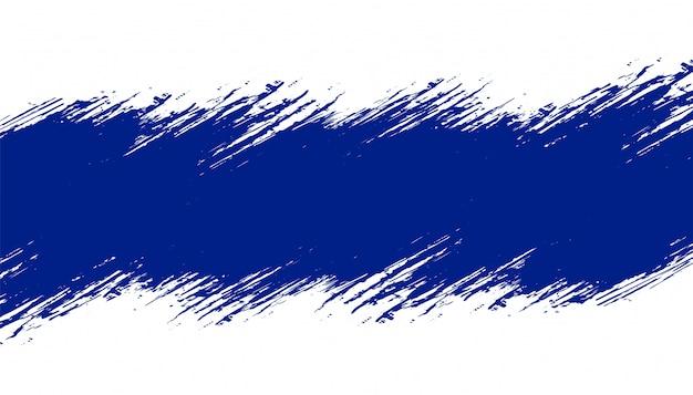 テキストスペースを持つ青いグランジテクスチャ背景 無料ベクター