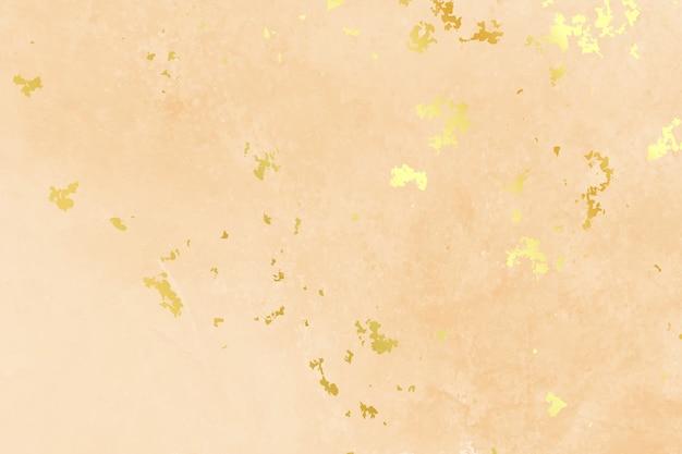 Пастельный цвет фона с текстурой золотой фольги Бесплатные векторы