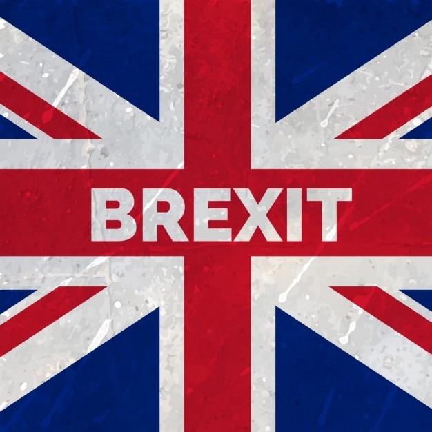 欧州連合フラグから英国出口 無料ベクター