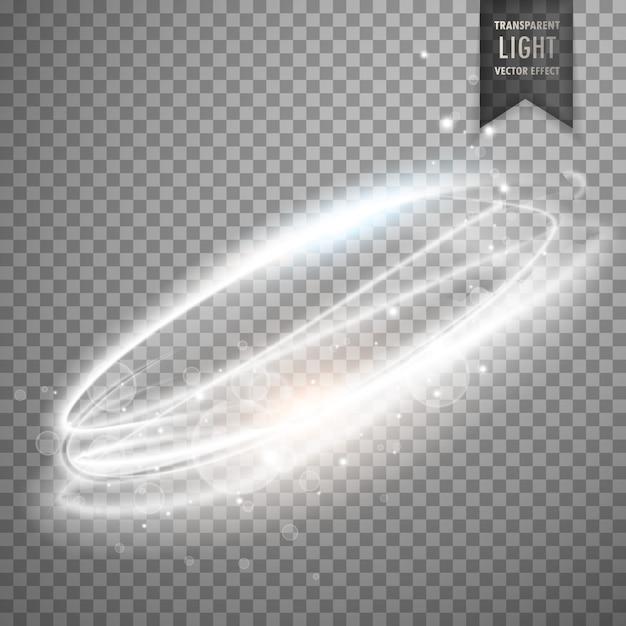 透明な光効果ベクトル 無料ベクター