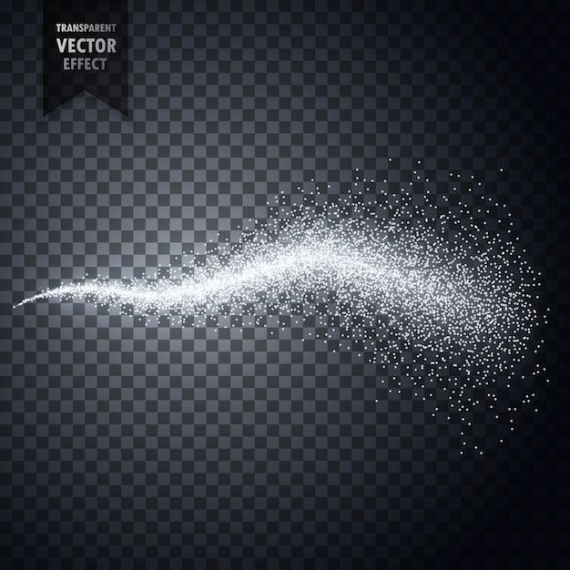 アトマイザーの水スプレーミストまたは煙塵の粒子透明効果 無料ベクター