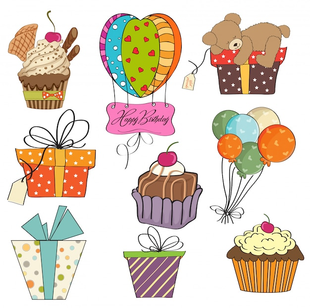 Картинки для распечатки на день рождения цветные