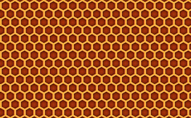 Мед в сотах улей бесшовные модели текстурированные. Premium векторы
