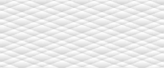 抽象的な灰色白い波線パターン背景 Premiumベクター