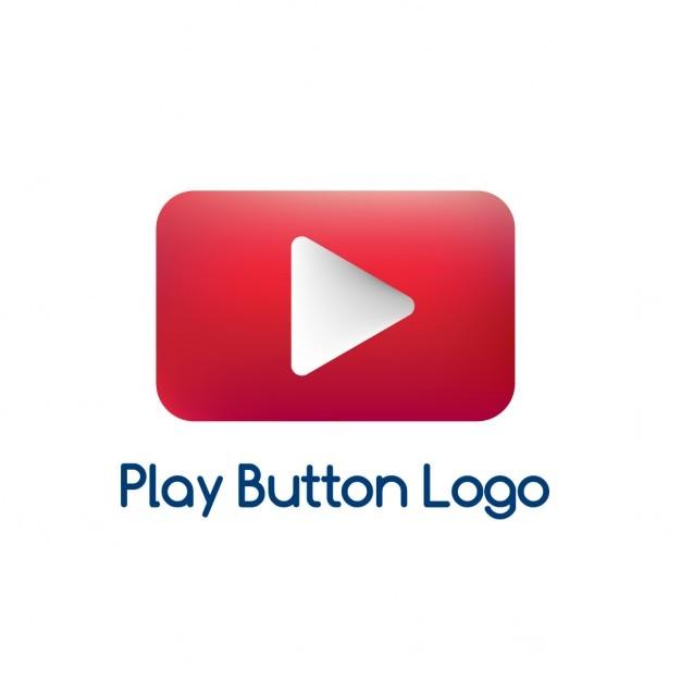 Красный логотип, игра видео Бесплатные векторы