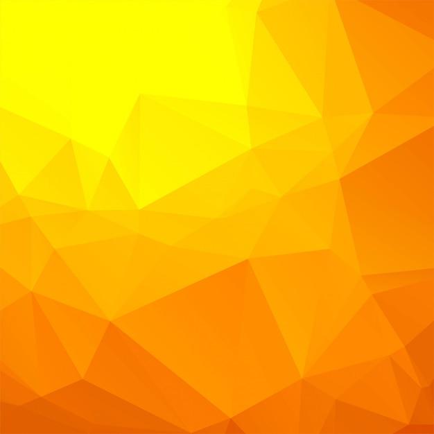 美しいカラフルなポリゴンの背景ベクトル 無料ベクター