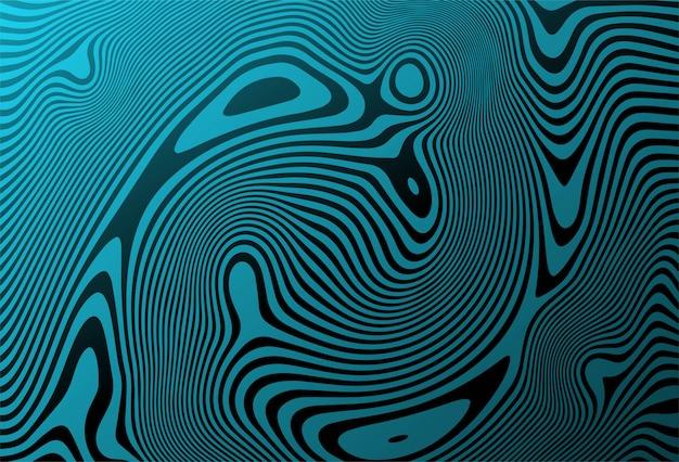 抽象的なジグザグ斜め波パターン背景 無料ベクター