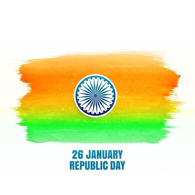 インドの幸せ共和国記念日 無料ベクター