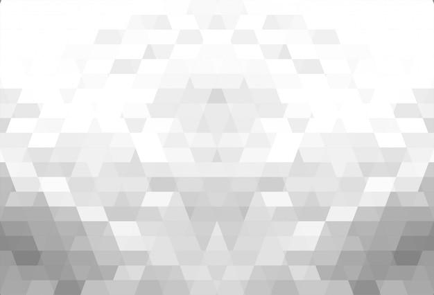 抽象的な灰色の幾何学的図形の美しい背景 無料ベクター